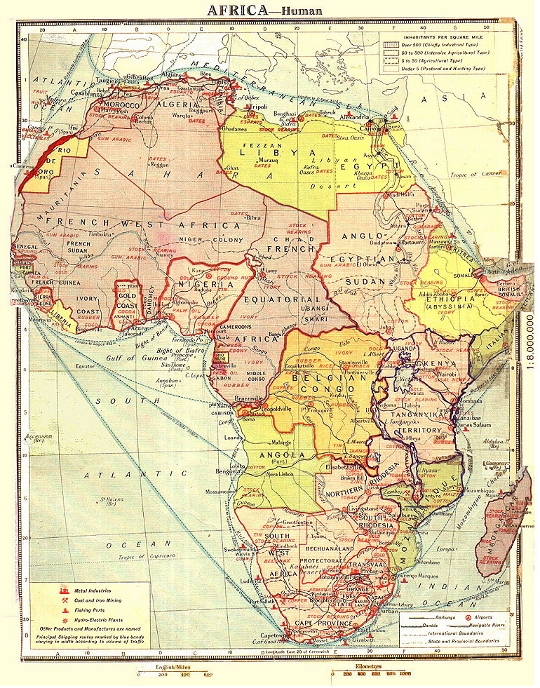 colonial africa marlow and human africans